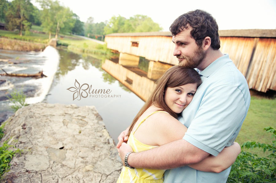 lindsay amp adam are engaged watson mill state park