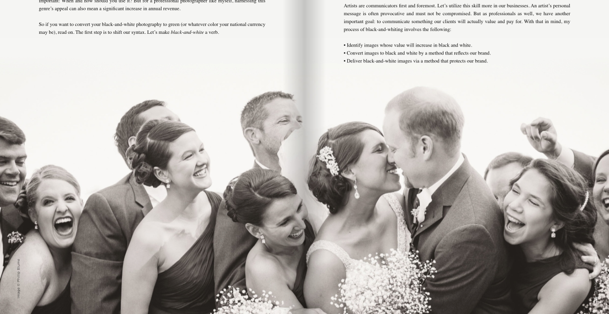 Convert color image to black and white online - So Grab A Copy Subscribe To The Magazine Or Read Our Article Online Now How To Black And White Your Photos For Higher Profits Enjoy