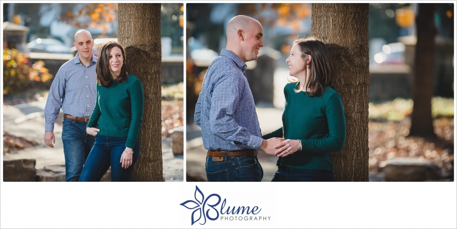 Atlanta,Piedmont Park,engagement,winter,