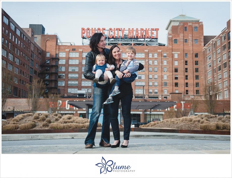 Atlanta,Ponce City Market,beltline,engagement,family,portraits,